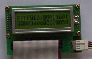 Vitaprom  HDD monitor for displaying of HDD IDE self-test mode.